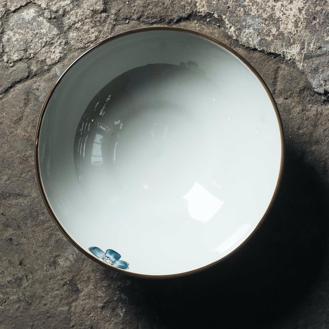ชามราเม็งลายดอก 9.5 นิ้ว